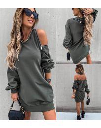 Φόρεμα - κώδ. 296 - χακί