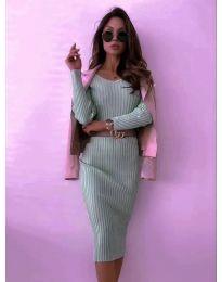 Φόρεμα - κώδ. 5878 - μέντα