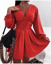 Φόρεμα - κώδ. 4343 - κόκκινο