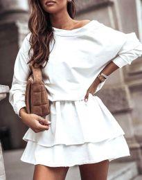 Φόρεμα - κώδ. 0525 - λευκό