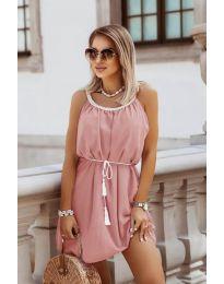 Φόρεμα - κώδ. 8800 - πούδρα