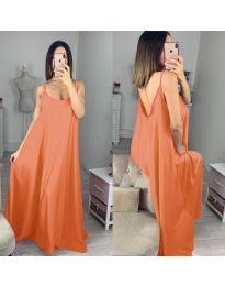 Φόρεμα - κώδ. 6600 - πορτοκαλί