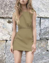 Φόρεμα - κώδ. 1233 - καπουτσίνο