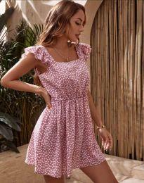 Φόρεμα - κώδ. 6525 - πούδρα