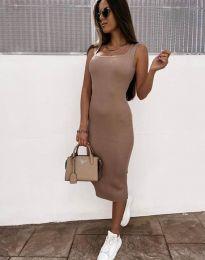 Φόρεμα - κώδ. 5965 - καπουτσίνο