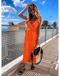 Φόρεμα - κώδ. 547 - πορτοκαλί
