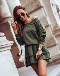 Φόρεμα - κώδ. 0525 - λαδί