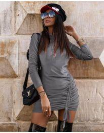 Φόρεμα - κώδ. 9545 - γκρι