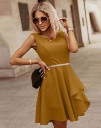 Φόρεμα - κώδ. 8917 - καπουτσίνο