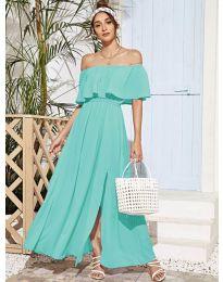 Φόρεμα - κώδ. 698 - τυρκουάζ