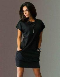 Φόρεμα - κώδ. 1585 - 1 - μαύρο