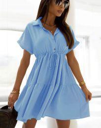 Φόρεμα - κώδ. 6292 - γαλάζιο