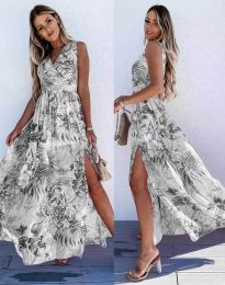 Φόρεμα - κώδ. 0570 - πολύχρωμο