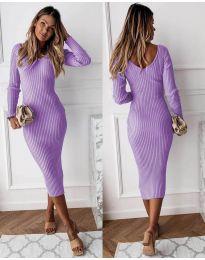 Φόρεμα - κώδ. 928 - μωβ