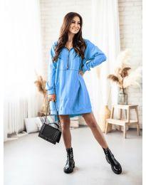 Φόρεμα - κώδ. 6113 - Γαλάζιο