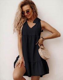 Φόρεμα - κώδ. 7206 - μαύρο