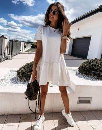 Φόρεμα - κώδ. 11890 - λευκό