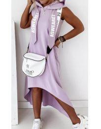Φόρεμα - κώδ. 837 - μωβ
