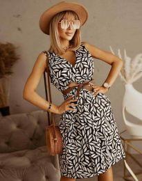 Φόρεμα - κώδ. 5488 - 2 - πολύχρωμο
