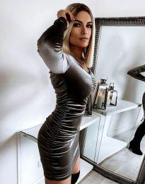 Φόρεμα - κώδ. 12080 - γραφίτη