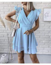 Φόρεμα - κώδ. 409 - γαλάζιο