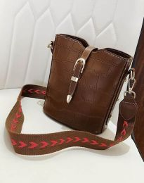 Τσάντα - κώδ. B295 - καφέ