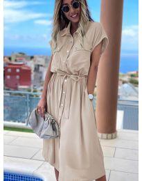 Φόρεμα - κώδ. 0014 - μπεζ