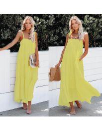 Φόρεμα - κώδ. 551 - κίτρινο