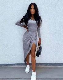 Φόρεμα - κώδ. 1652 - γκρι