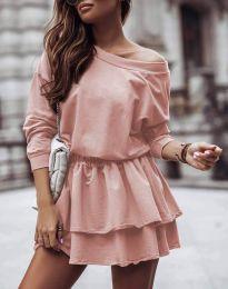 Φόρεμα - κώδ. 0525 - πούδρα