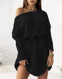 Φόρεμα - κώδ. 6940 - μαύρο
