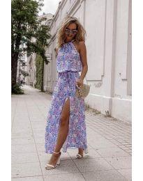 Φόρεμα - κώδ. 6611 - πολύχρωμο