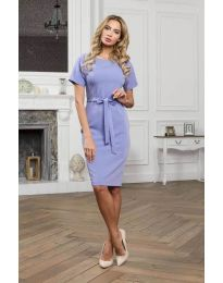 Φόρεμα - κώδ. 3698 - γαλάζιο