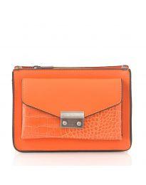 Τσάντα - κώδ. D8506 - πορτοκαλί