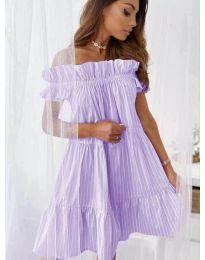 Φόρεμα - κώδ. 0299 - μωβ