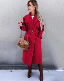Παλτό - κώδ. 3784 - κόκκινο