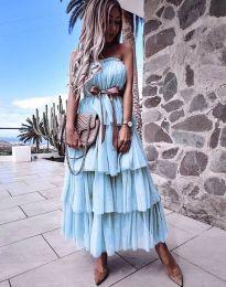 Φόρεμα - κώδ. 1543 - γαλάζιο