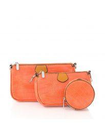 Τσάντα - κώδ. NH2889 - πορτοκαλί