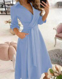 Φόρεμα - κώδ. 2861 - γαλάζιο