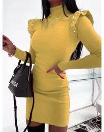 Φόρεμα - κώδ. 2323 - μουσταρδί