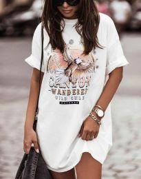 Φόρεμα - κώδ. 3225 - λευκό