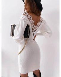 Φόρεμα - κώδ. 1718 - λευκό