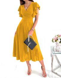 Φόρεμα - κώδ. 1557 - μουσταρδί
