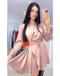 Φόρεμα - κώδ. 5931 - πούδρα