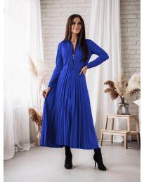 Φόρεμα - κώδ. 1544 - σκούρο μπλε