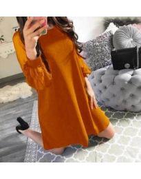 Φόρεμα - κώδ. 857 - mουσταρδί