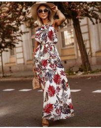 Φόρεμα - κώδ. 2598 - λευκό