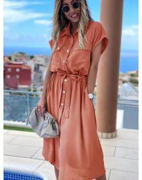 Φόρεμα - κώδ. 0014 - ροδακινί