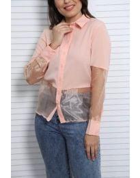 Дамска риза в розово - код 0638