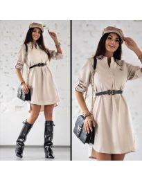 Φόρεμα - κώδ. 9601 - μπεζ